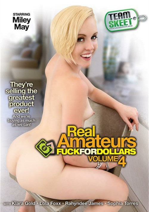 Real Amateurs Fuck For Dollars #4