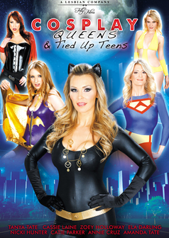 Tanya Tate's Cosplay Queens and Tied Up Teens #1 DVD