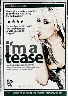 I'm A Tease DVD