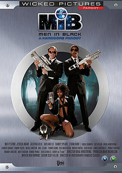 Men in Black: A Hardcore Parody DVD