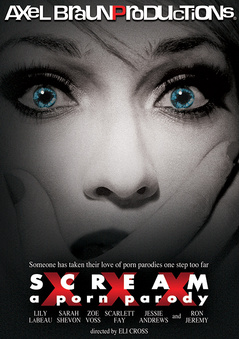 Scream XXX: A Porn Parody DVD