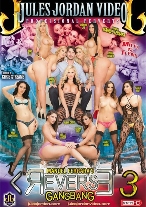 Manuel Ferrara's Reverse Gangbang #3 DVD