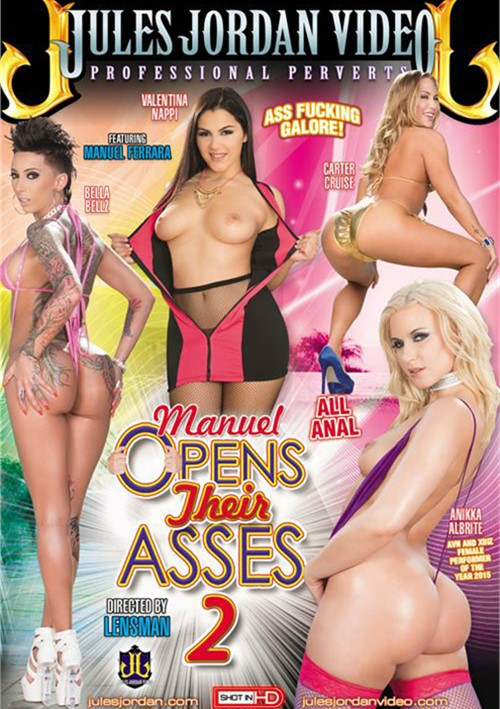 Manuel Opens Their Asses #2 DVD