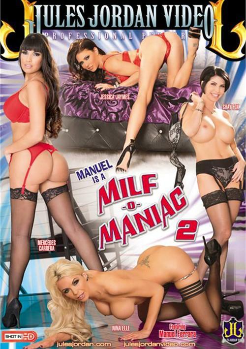 Manuel Is A MILF-O-Maniac #2 DVD