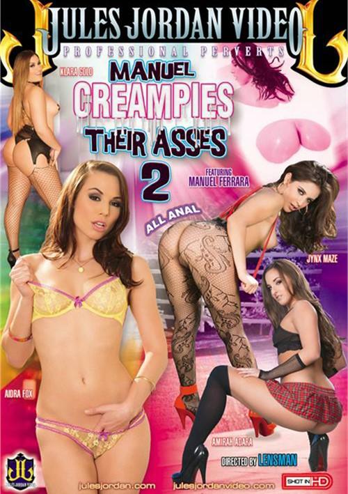 Manuel Creampies Their Asses #2 DVD