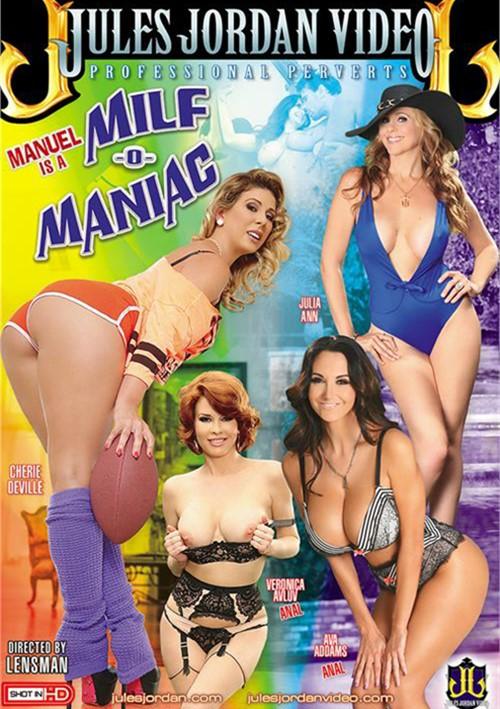 Manuel Is A MILF-O-Maniac DVD