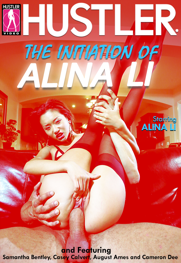 The Initiation of Alina Li DVD