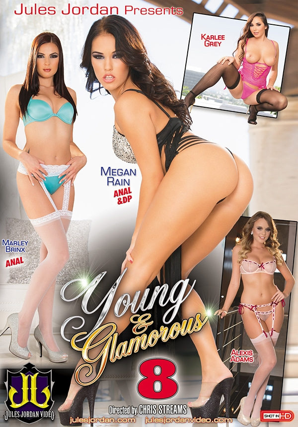 Young and Glamorous #8 DVD