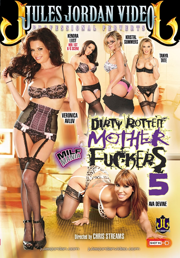 Dirty Rotten Mother Fuckers #5 DVD
