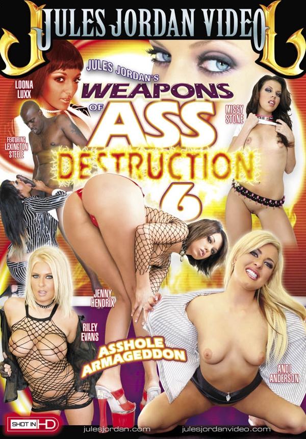 Weapons Of Ass Destruction #6 DVD