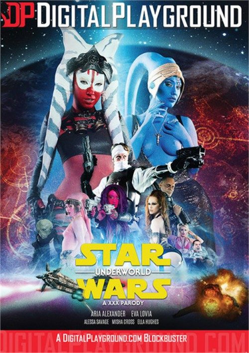 Star Wars Underworld: A XXX Parody DVD
