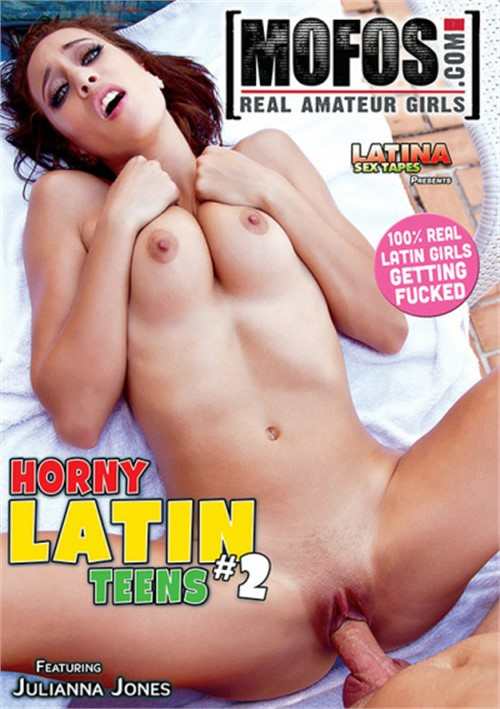 Horny Latin Teens #2 DVD