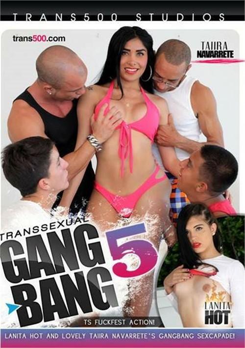 Transsexual Gang Bang! #5