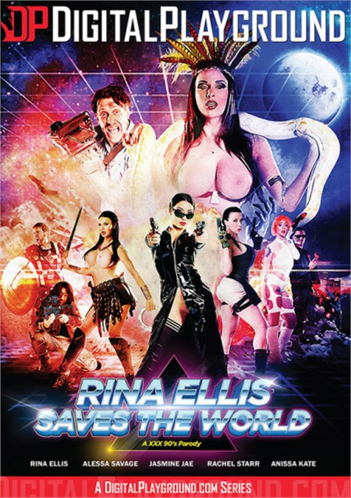 Rina Ellis Saves The World DVD