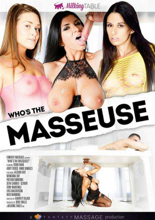 Who's the Masseuse DVD