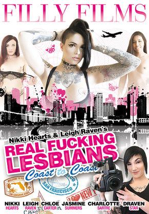 Real Fucking Lesbians Coast to Coast DVD