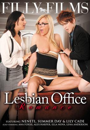 Lesbian Office Romance DVD