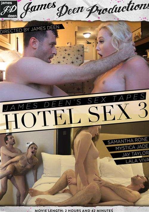 James Deen's Sex Tapes: Hotel Sex #3 DVD