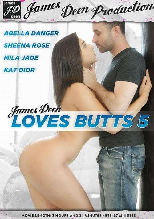 James Deen Loves Butts #5 DVD