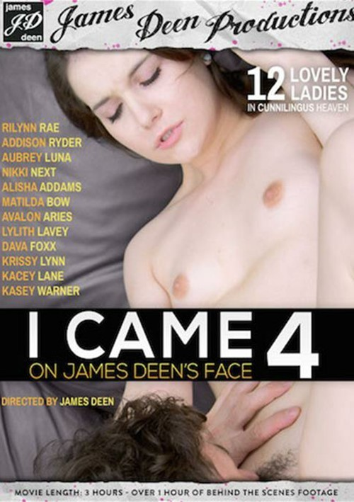 I Came On James Deen's Face #4 DVD