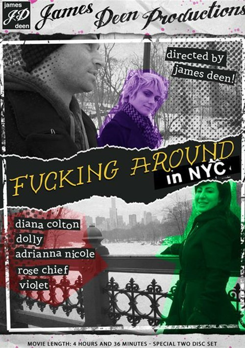 Fucking Around in NYC DVD