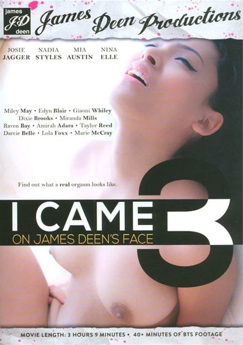 I Came On James Deen's Face #3 DVD