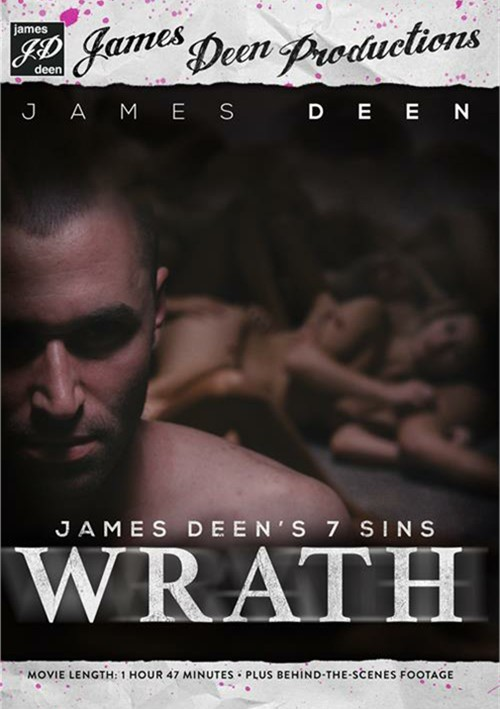 James Deen's 7 Sins: Wrath DVD
