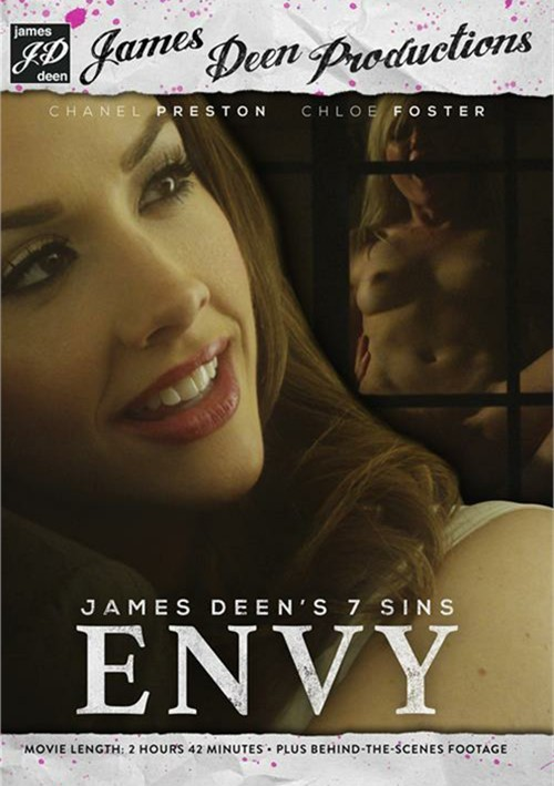 James Deen's 7 Sins: Envy DVD