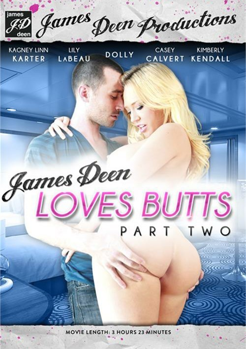 James Deen Loves Butts #2 DVD