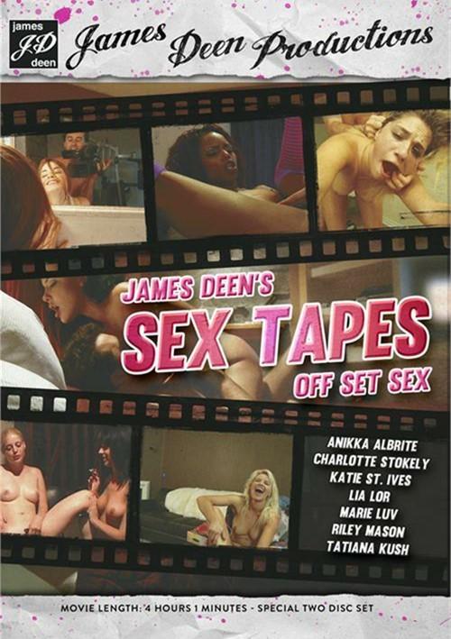 James Deen's Sex Tapes: Off Set Sex #1 DVD