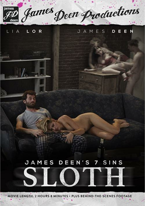 James Deen's 7 Sins: Sloth DVD