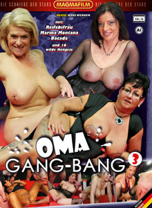 Oma Gang-Bang #3 DVD