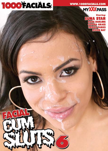 Facial Cum Sluts #6 DVD