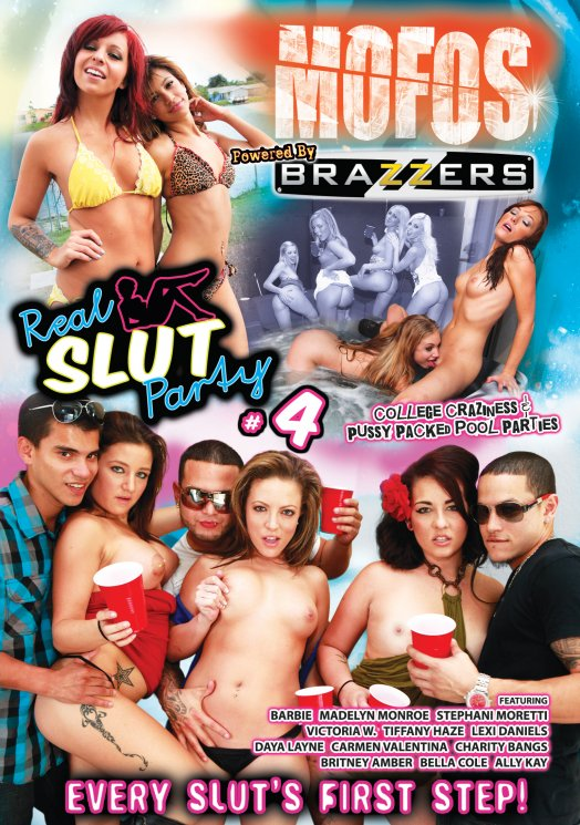 Real Slut Party #4 DVD
