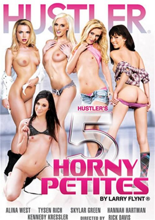 Hustler's 5 Horny Petites DVD