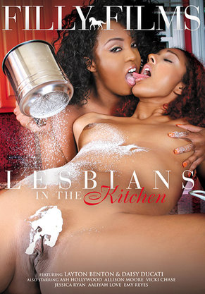 Lesbians In The Kitchen DVD