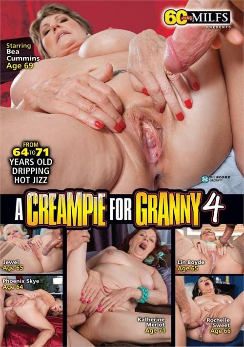 A Creampie For Granny #4