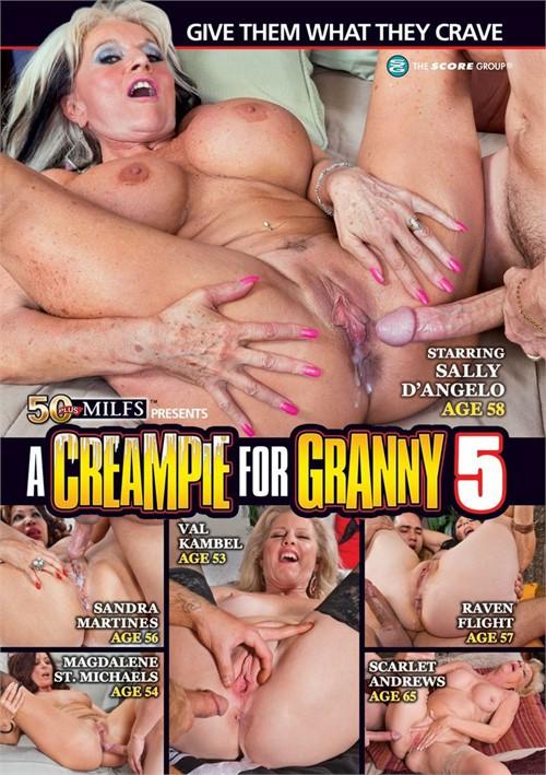 A Creampie For Granny #5