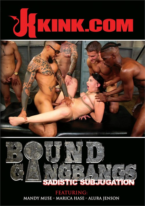 Bound Gangbangs: Sadistic Subjugation DVD