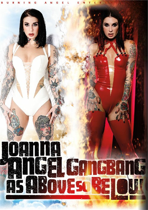 Joanna Angel Gangbang: As Above So Below DVD