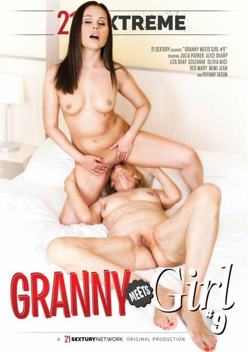 Granny Meets Girl #9 DVD