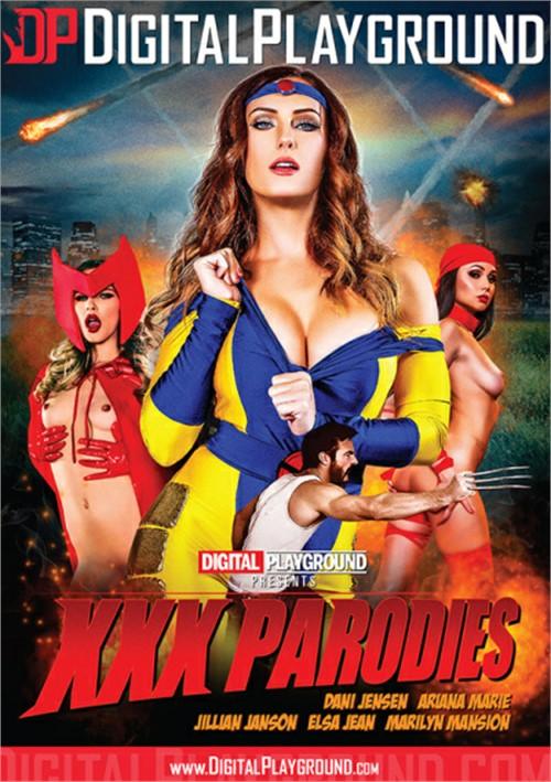 XXX Parodies DVD
