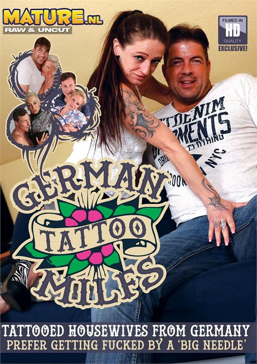 German Tattoo MILFs