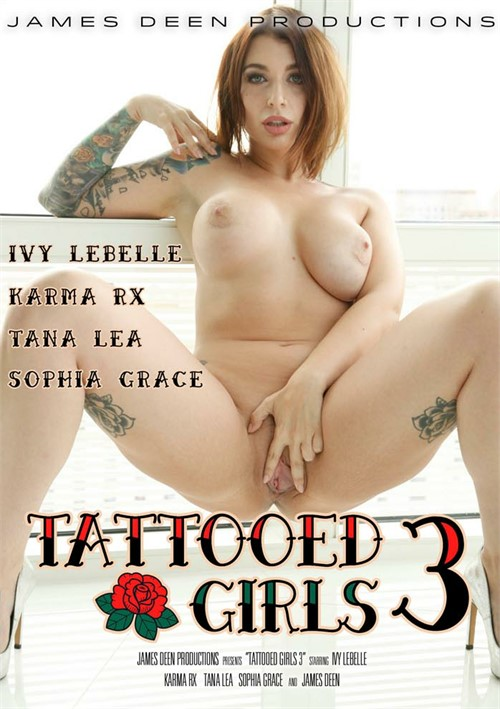 Tattooed Girls #3 DVD