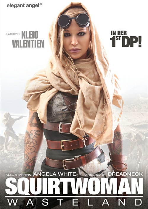 Squirtwoman: Wasteland DVD
