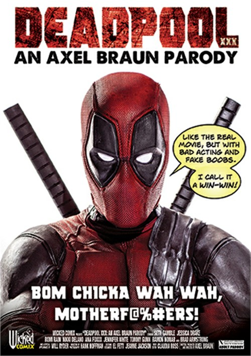 Deadpool XXX: An Axel Braun Parody DVD
