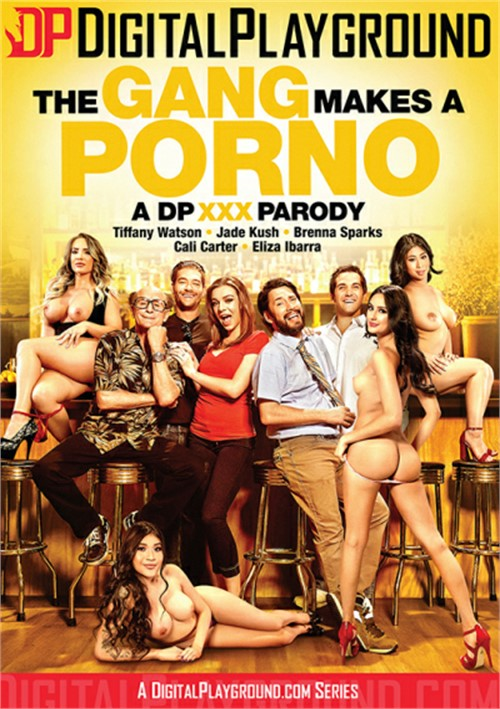 The Gang Makes A Porno DVD