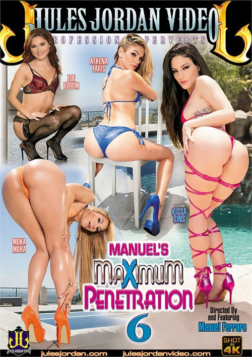 Manuel's Maximum Penetration #6 DVD