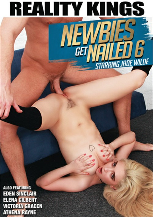 Newbies Get Nailed #6 DVD