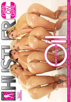 Hustler's Girl On Girl Oil DVD